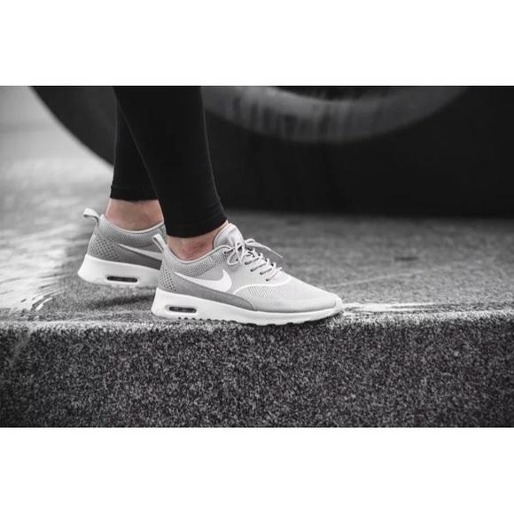 Nike Air Max Thea Matte Silver White Sneakers
